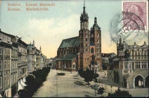 Krakau Krakow Krakau Marien Kirche  x / Polen /