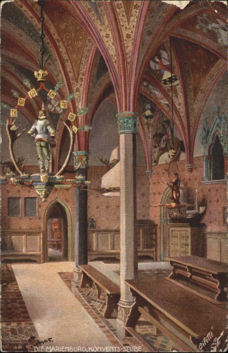 Marienburg Konvents-Stube Kuenstler Thomas *