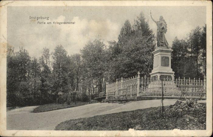 Insterburg Insterburg Kriegerdenkmal x / Tschernjachowsk /