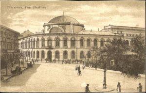 Warszawa Warschau Plac Bankowy *