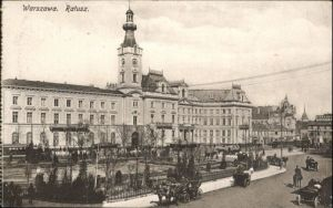 Warszawa Warschau Ratusz *