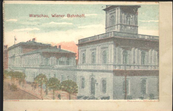 Warschau Wiener Bahnhof  *