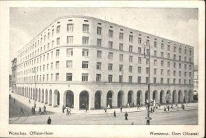 Warschau Warszawa Offizier-Heim *