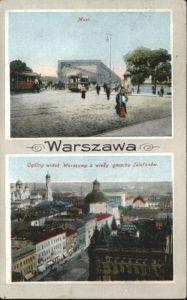 Warszawa Warschau Most Strassenbahn  x