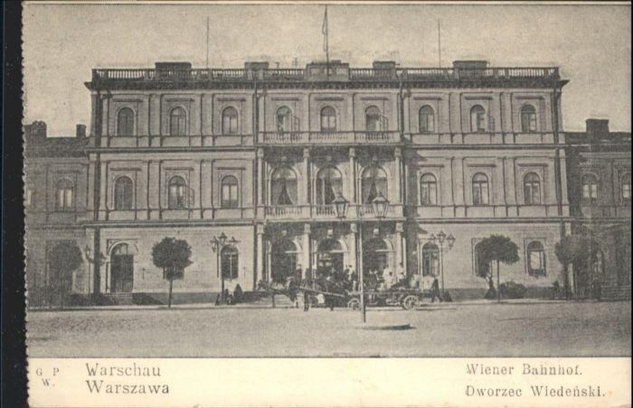 Warschau Warszawa Wiener Bahnhof x