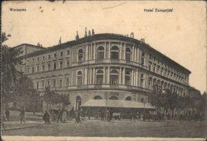 Warszawa Warschau Hotel Europejski x