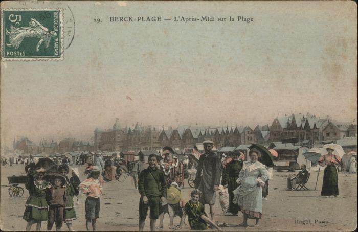 Berck-Plage La Plage x / Berck /Arrond. de Montreuil