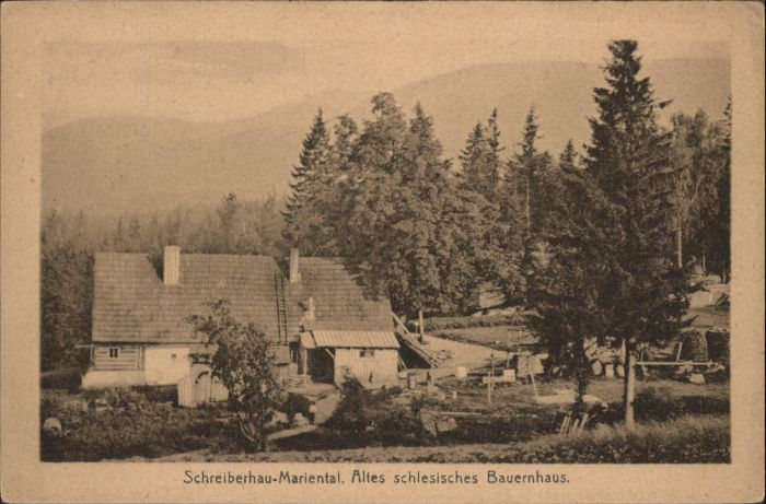 Schreiberhau Mariental Bauernhaus *