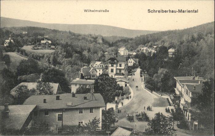 Schreiberhau Mariental Wilhelmstrasse  *