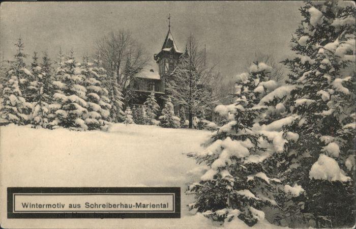 Schreiberhau Mariental Hirschberg *