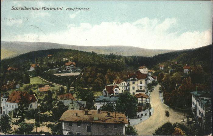 Schreiberhau Mariental Hauptstrasse  x