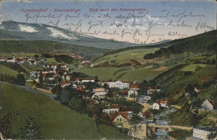 Agnetendorf Riesengebirge Schneegruben x