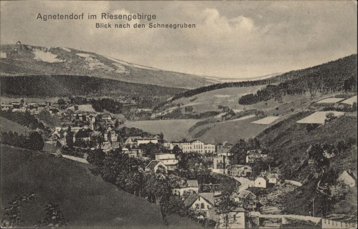 Agnetendorf Riesengebirge Schneegruben *