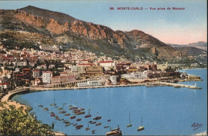 ww86860 Monte-Carlo Monte Carlo  * Kategorie. Monte-Carlo Alte Ansichtskarten