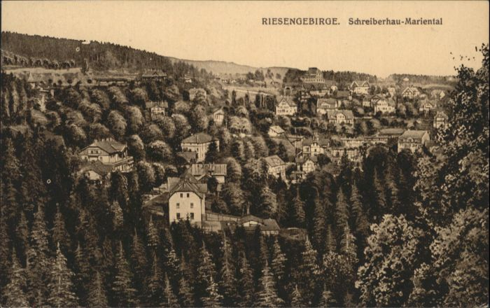 Schreiberhau Riesengebirge Mariental *