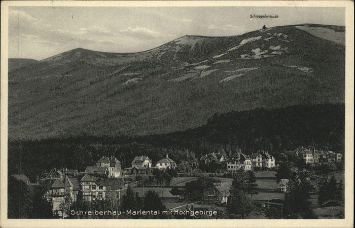 Schreiberhau Hochgebirge Mariental x