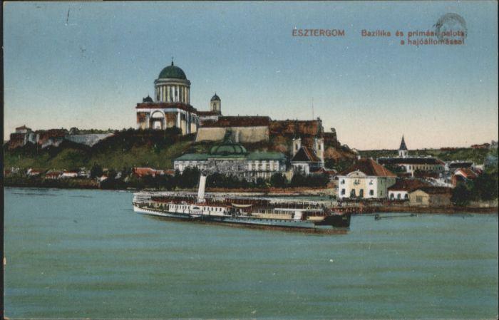 Esztergom Bazilika Dampfer x
