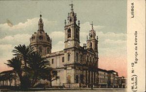 Lisboa Lissabon Egreja Estrella *