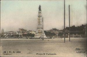 Lisboa Lissabon Praca D Fernando *