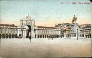 Lisboa Lissabon Praca Commercio *