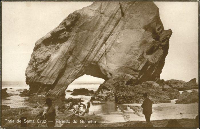 Praia Santa Cruz Penedo Guincho *