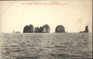 Tonkin Entree Baie d Along Sully *