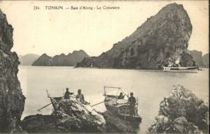 Tonkin Baie d Along Cimetiere *