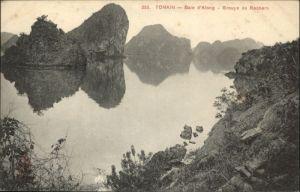 Tonkin  Baie d Along Groupe Rochers *