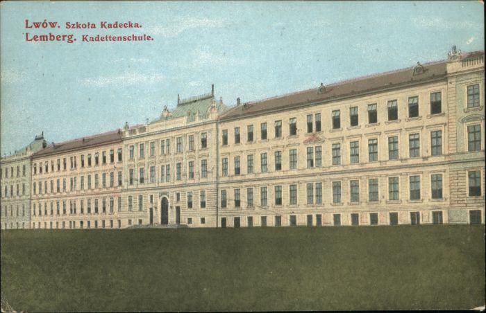 Lemberg Lwow Lviv Kadetten Schule  * / Ukraine /