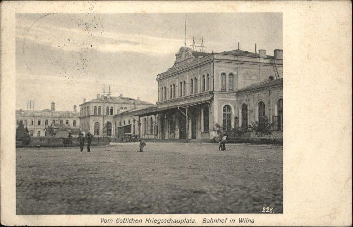 Wilna Bahnhof x