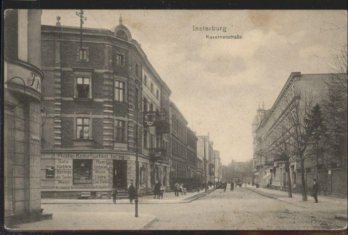 Insterburg Insterburg Kasernenstrasse x / Tschernjachowsk /
