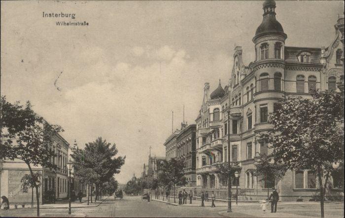 Insterburg Insterburg Wilhelmstrasse x / Tschernjachowsk /