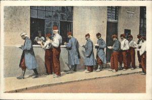 Grafenwoerth Gefangene Franzosen beim Menagieren