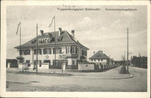 Grafenwoerth Truppenuebungsplatz Kommandanturgebaeude
