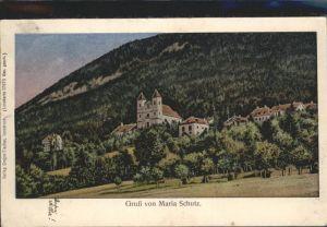 Schottwien Lunakarte / Schottwien /Niederoesterreich-Sued