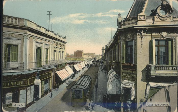 Rosario Santa Fe Calle San Martin