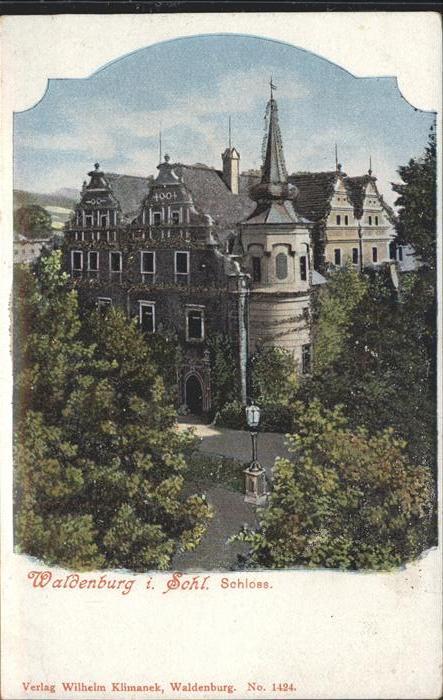 Waldenburg Schlesien Schloss