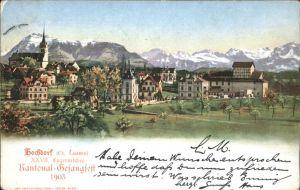 Hochdorf LU Kantonal Gesangsfest / Hochdorf /Bz. Hochdorf