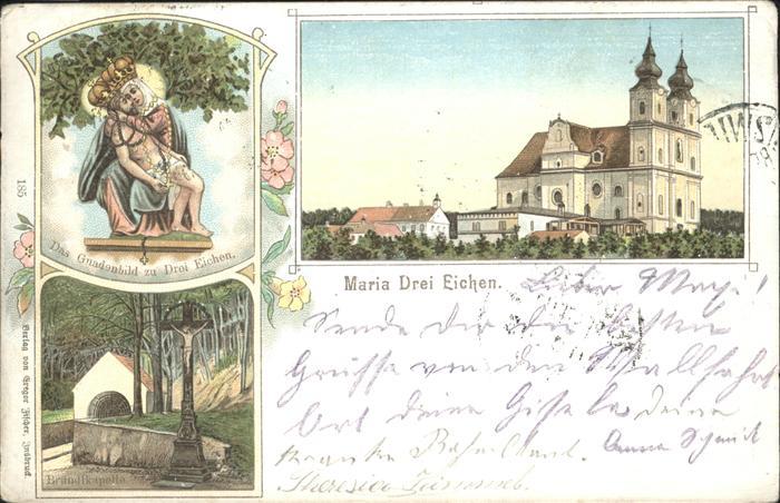Maria Dreieichen Gnadenbild Kapelle / Rosenburg-Mold /Waldviertel