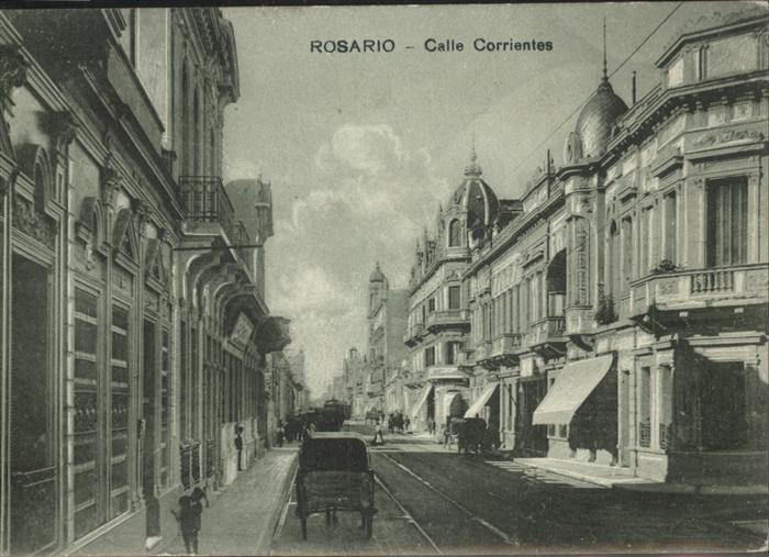 Rosario Santa Fe Calle Corrientes