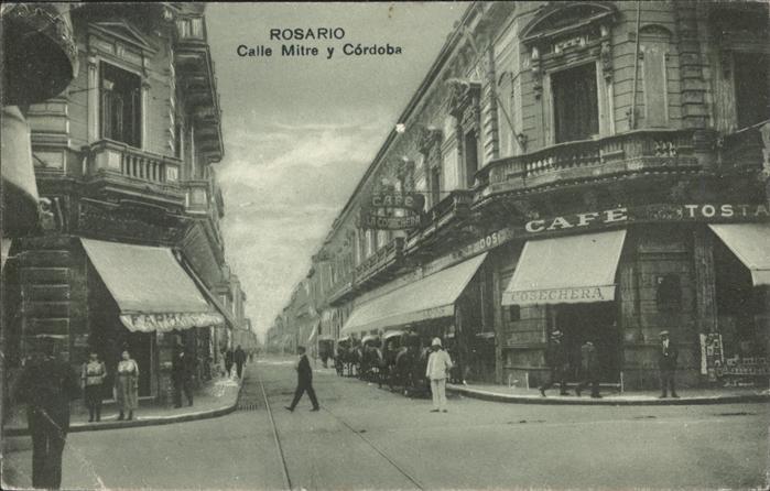 Rosario Santa Fe Calle Mitre y Cordoba