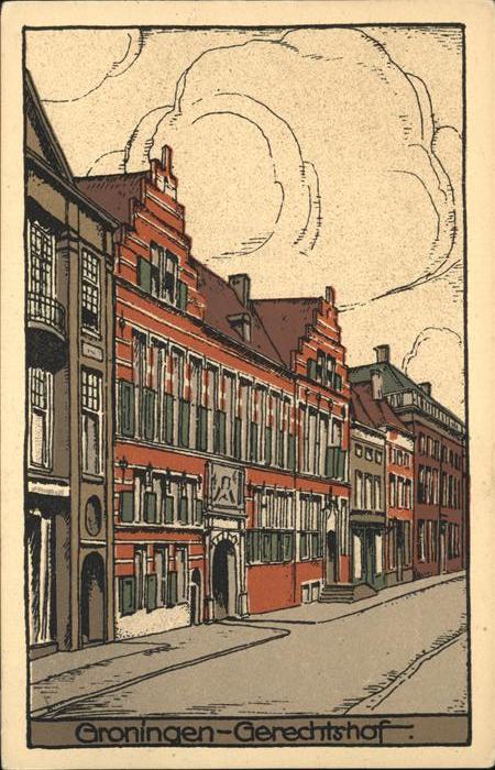 Groningen Gerichtshof Kat. Groningen