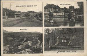 Hadersdorf-Kammern Schloss Lasudon Grabstaette Feldm. Laudon / Hadersdorf-Kammern /Waldviertel