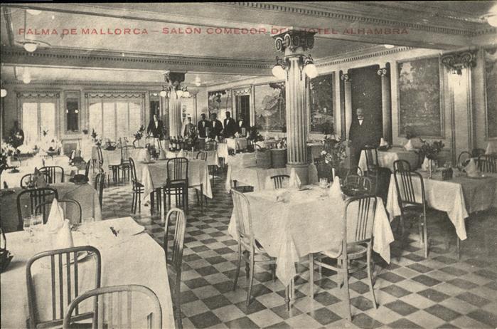 Palma de Mallorca Salon Comedor Hotel Alhambra Kat. Palma de ...