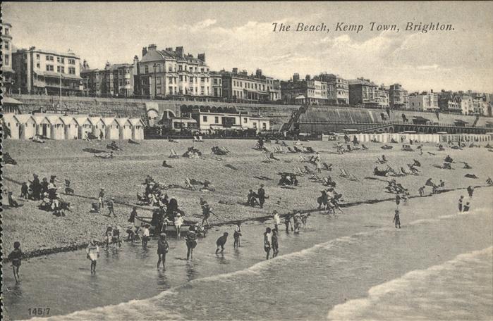 Brighton  Beach Kemp Town