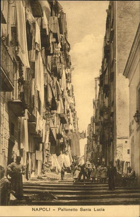 Napoli Pallonetto Santa Lucia Kat. Napoli