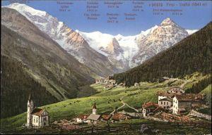 Trafoi Tirol Schneeglocke Ortler