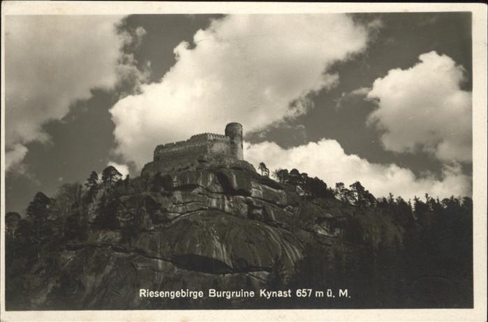 Kynast Niederschlesien Riesengebirge Burgruine Kynast