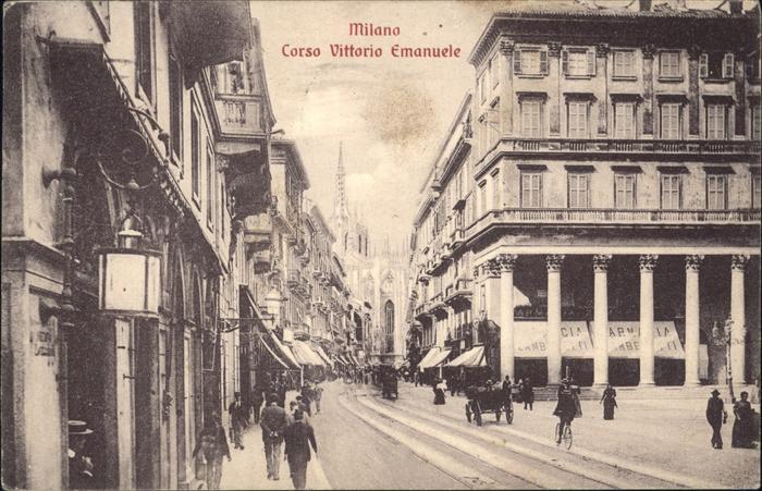 Milano Corso Vittorio Emanuele