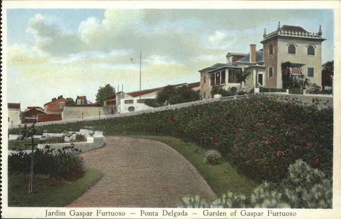 Ponta Delgada Jardim Gaspar Furtuoso Kat. Ponta Delgada